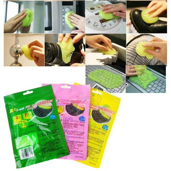 BSBL Eb Hk High-Tech Magic Dust Cleaner Compound Super Clean Slimy Gel For Phone Laptop Pc Computer Keyboard Car Clean