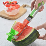 Transhome Watermelon Slicer Cutter Stainless Steel