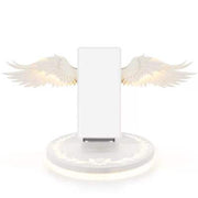 10W Qi Angel Wings Wireless Charging Stand With Rainbow Breathing light