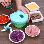 Vegetable Cutter Chopper Manual Meat Slicer