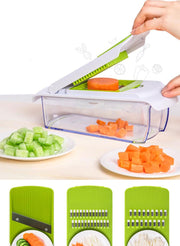 Stainless Steel Quick Vegetable Dicer Set