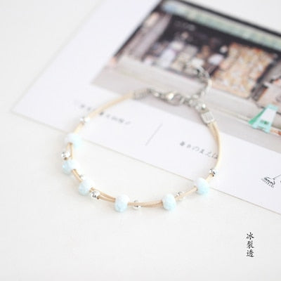 Beautiful  Small and simple cute art fashion women's  ceramic bracelet popular jewelry #N017 Best gift ever