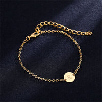 Fashionable Gold Color Bracelet and Bangle for Woman Adjustable Cute Bracelets Woman Best Jewelry Party Gifts