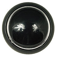 Hooter button - Chrome rim