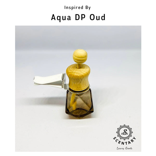 Aqua DP Oud His Car Air-Freshener Clip Special Edition