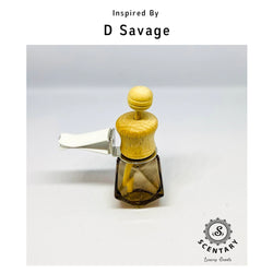 D Savage His Car Air-Freshener Clip Special Edition