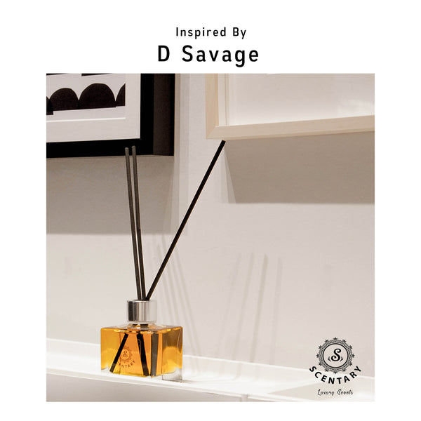 D Savage Inspired Reed Diffuser (100ml)