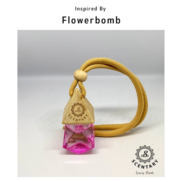 Flowerbomb I Her Car Air-Freshener
