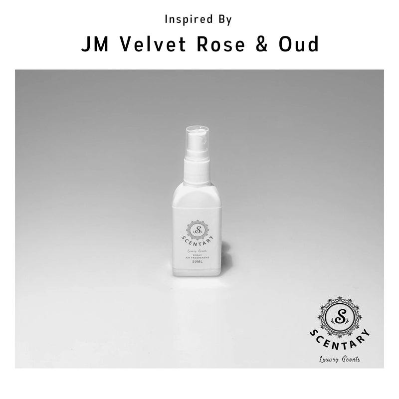 JM Velvet Rose & Oud | Room, Car & Linen Spray