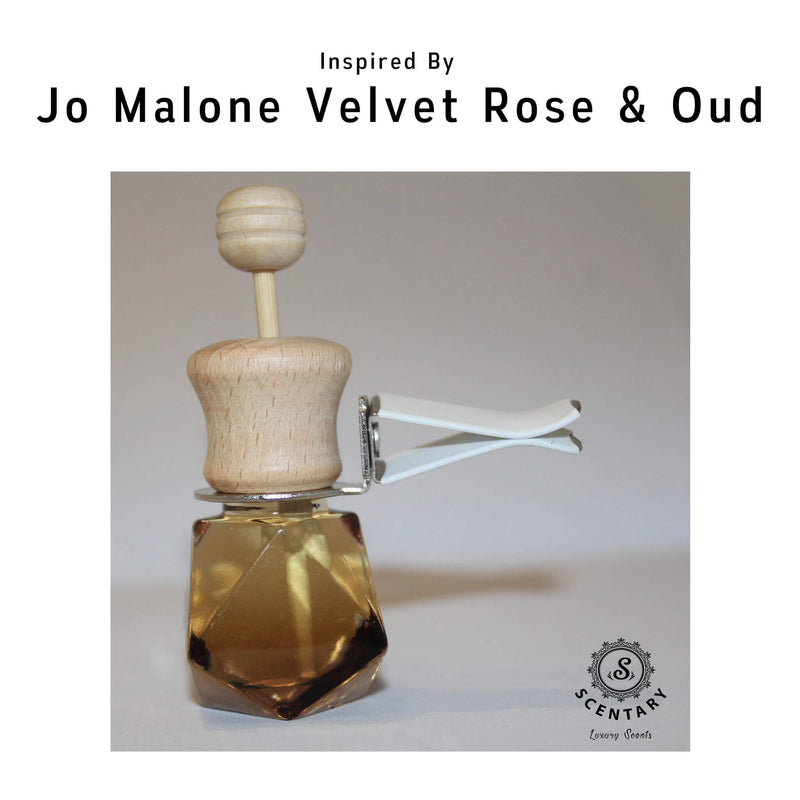 JM Velvet Rose & Oud Her Car Air-Freshener Clip Special Edition