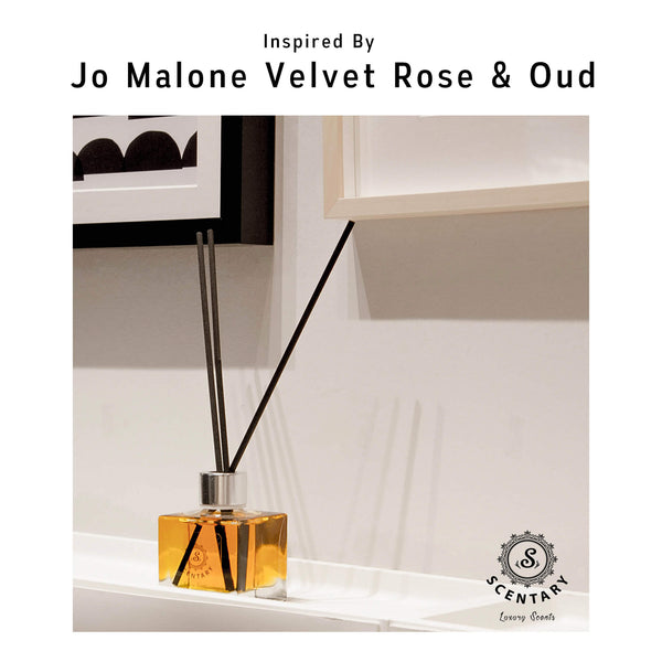 JM Velvet Rose & Oud Inspired Reed Diffuser (100ml)