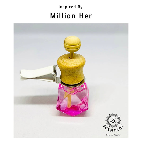 Million Her | Car Air-Freshener Clip Special Edition