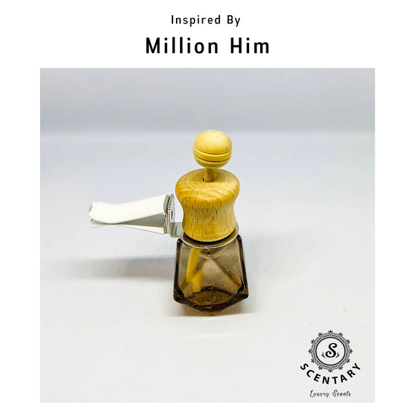 Million Him | His Car Air-Freshener Clip Special Edition