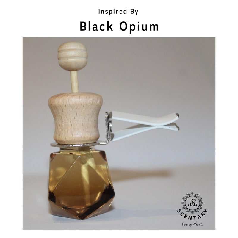 Blk Opium Car Air-Freshener Clip Special Edition