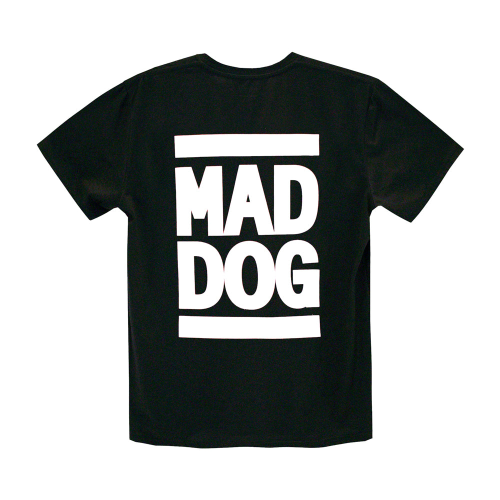 MAD DOG MENS SMALL PRINT TEE