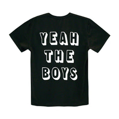YEAH THE BOYS MENS SMALL PRINT TEE