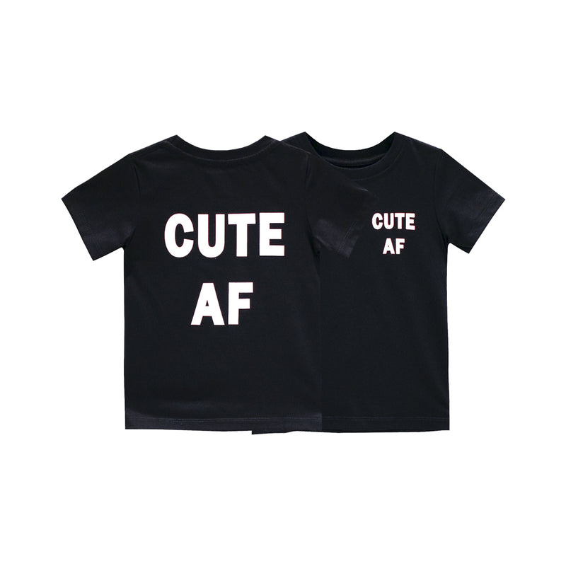 CUTE AF BOYS SMALL PRINT TEE
