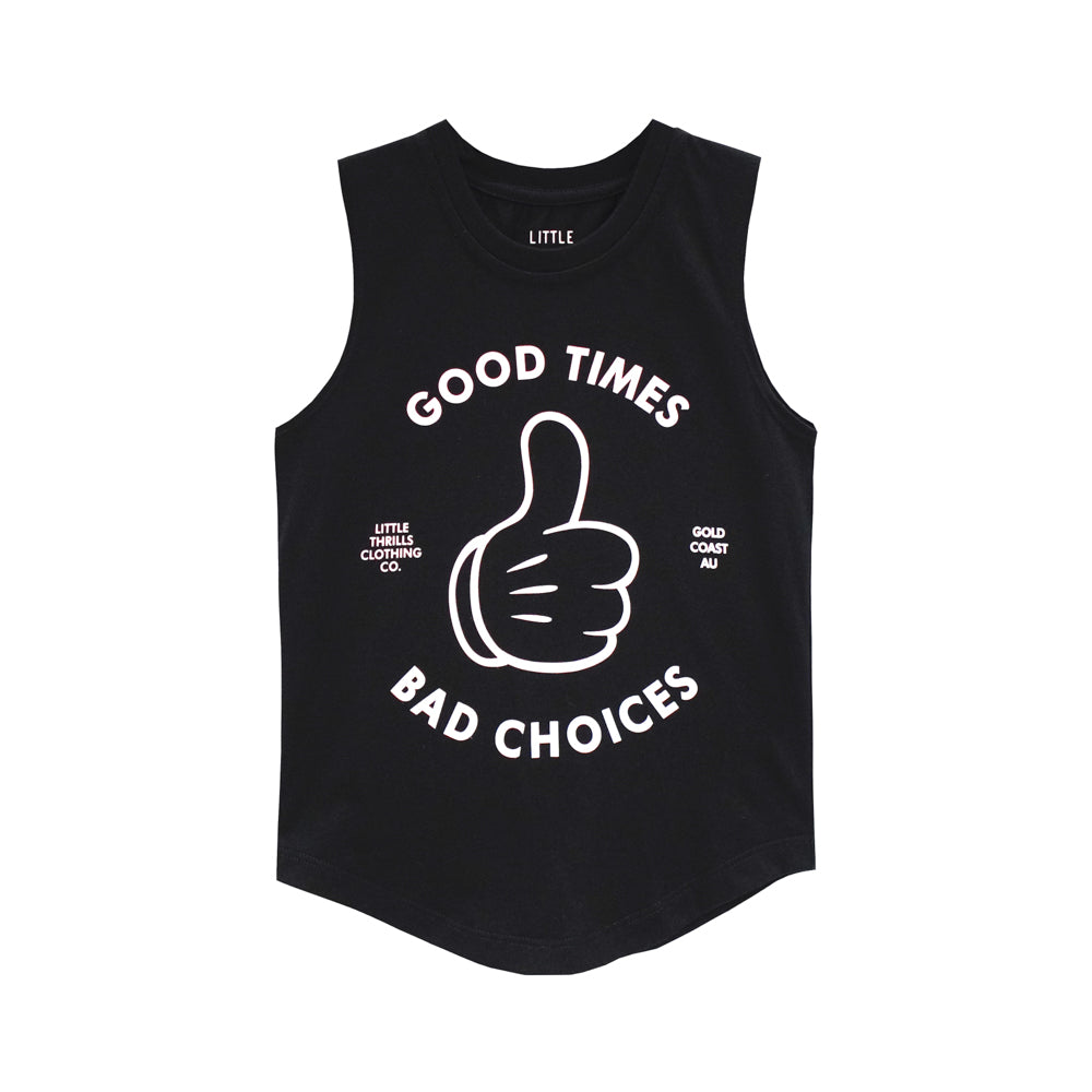 GOOD TIMES BOYS MUSCLE TEE