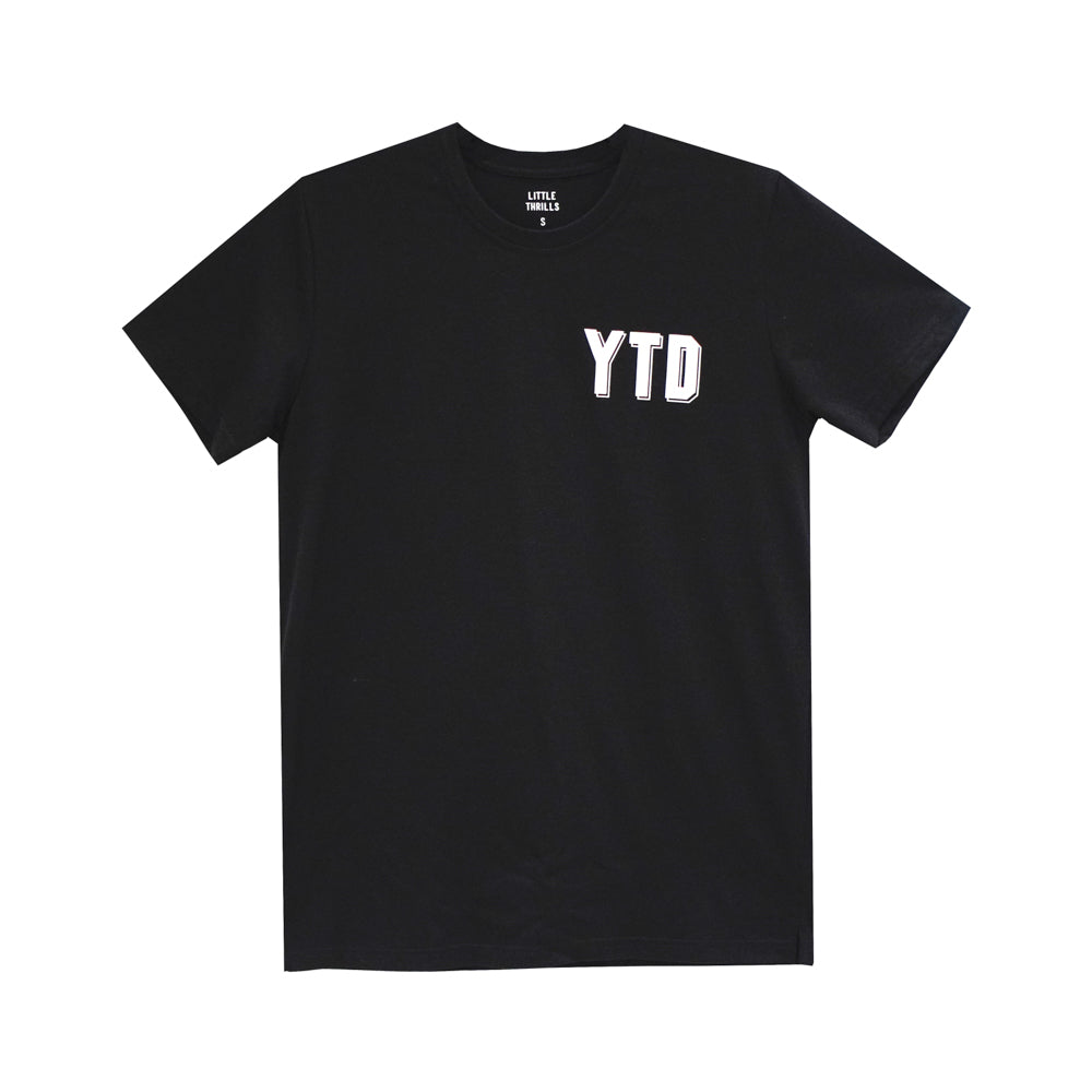 YEAH THE DADS MENS SMALL PRINT TEE