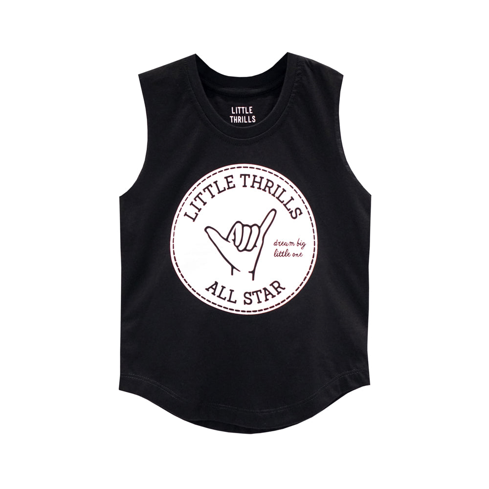 ALL STARS BOYS MUSCLE TEE