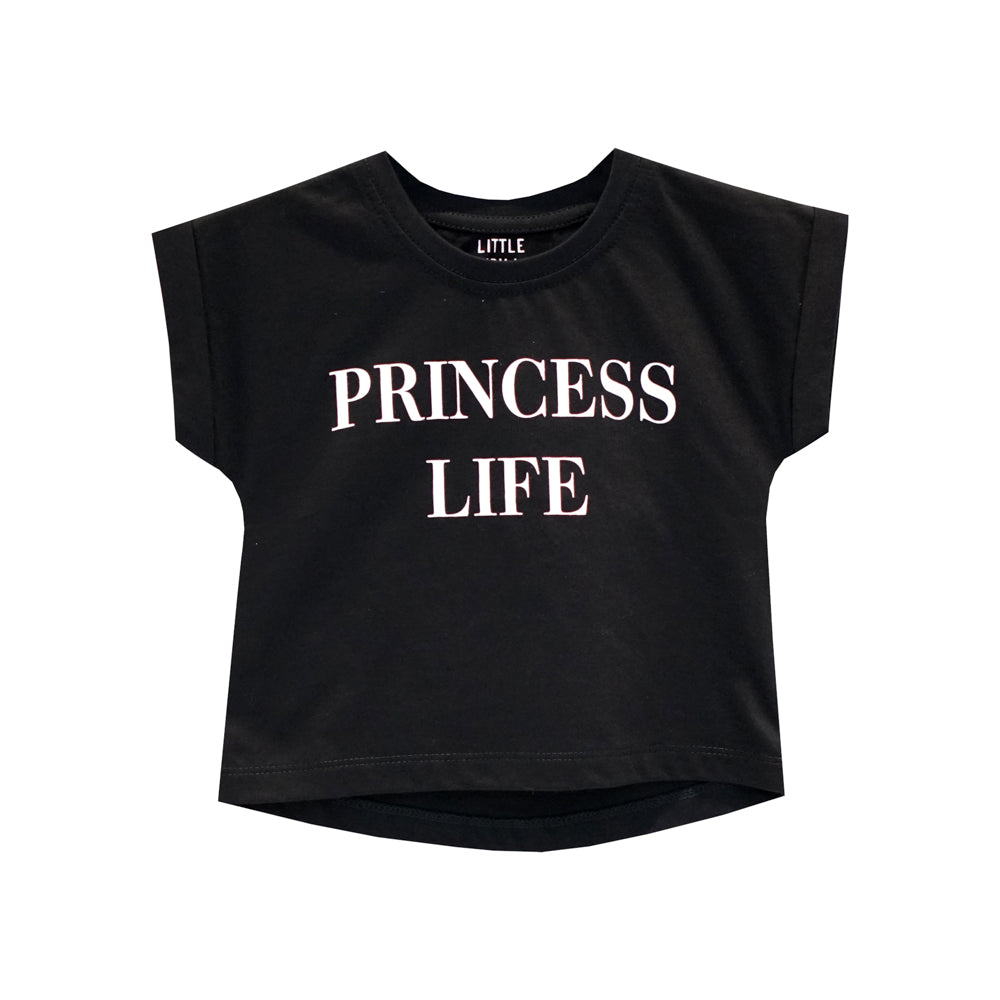 PRINCESS LIFE GIRLS TEE