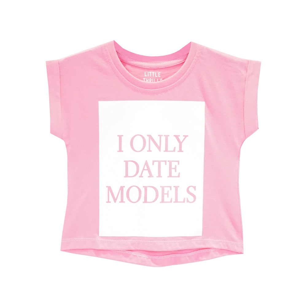 DATE MODELS GIRLS TEE PINK