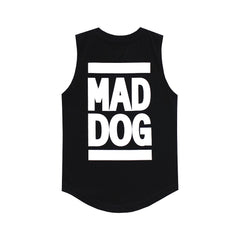 MAD DOG MUSCLE TEE SMALL PRINT