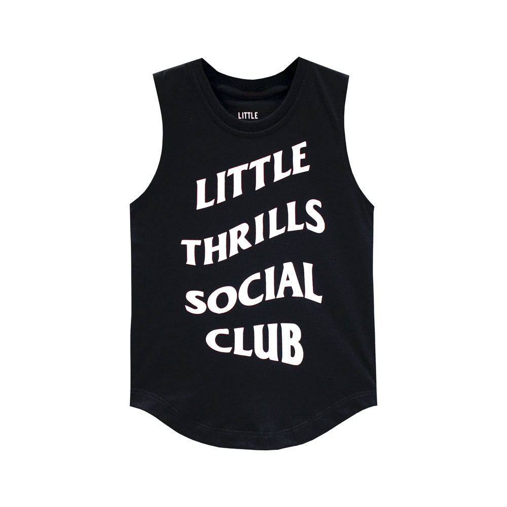 SOCIAL CLUB BOYS MUSCLE TEE