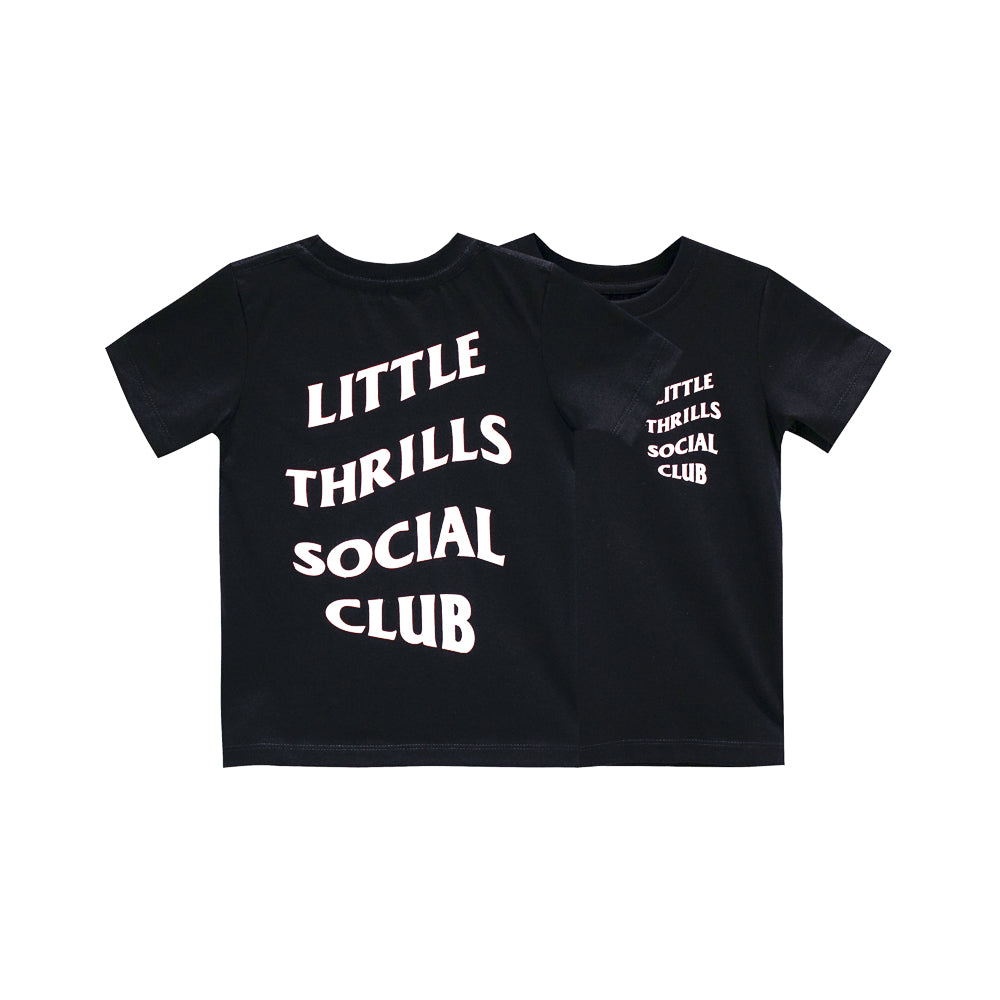 SOCIAL CLUB BOYS SMALL PRINT TEE