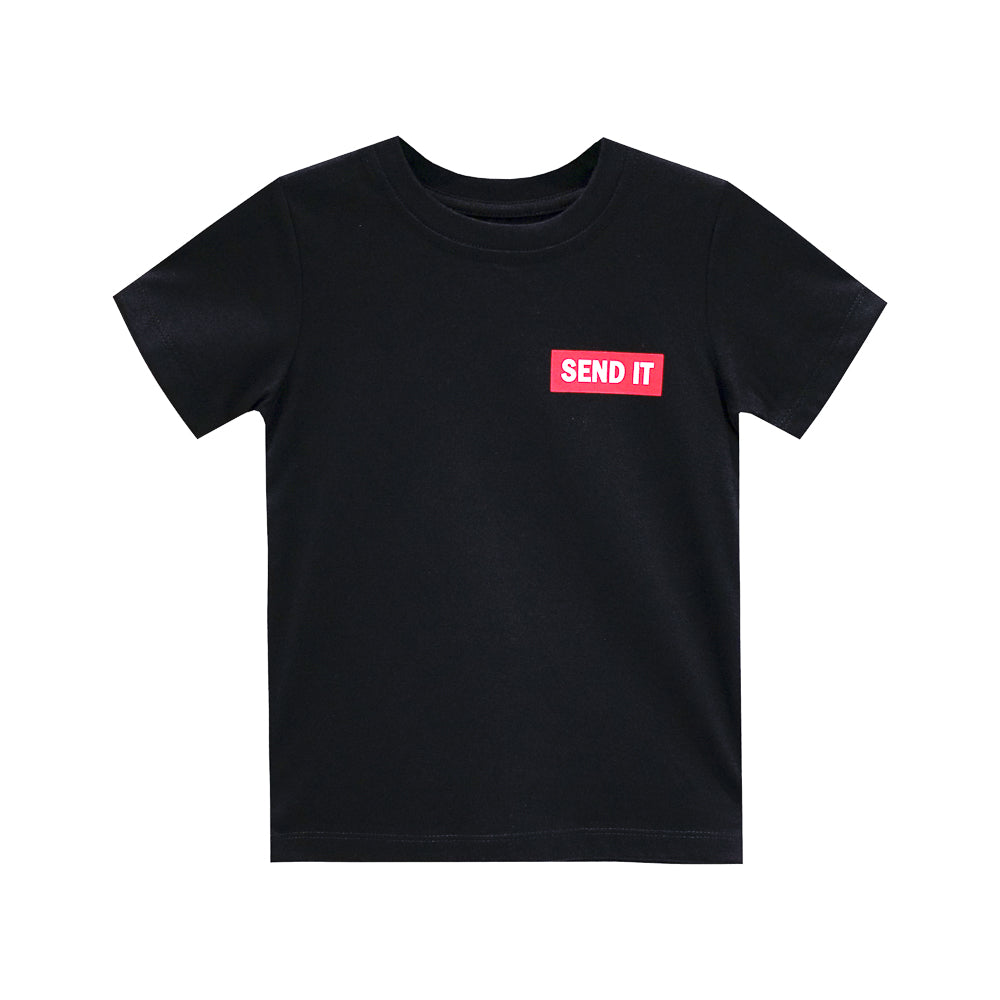 SEND IT BOYS SMALL PRINT TEE