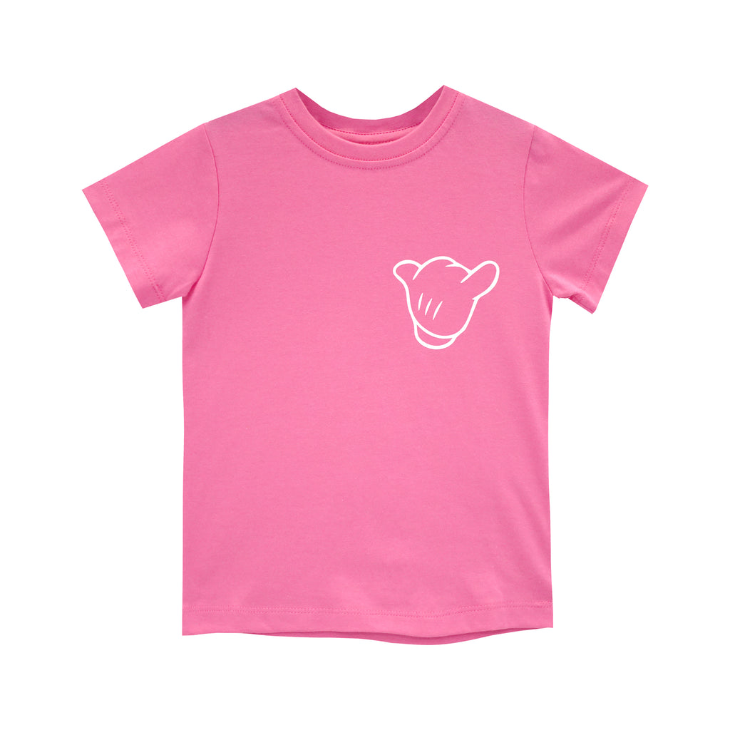 ITS ALL GOOD GIRLS STANDARD TEE PINK