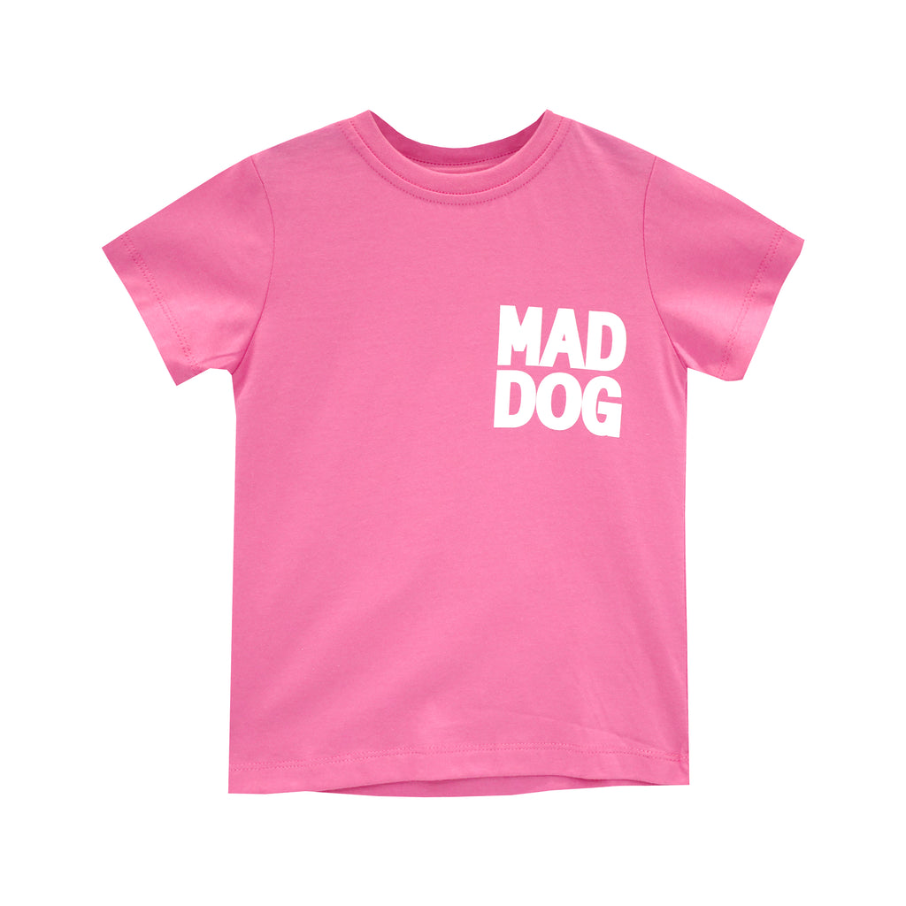 MAD DOG GIRLS STANDARD TEE PINK