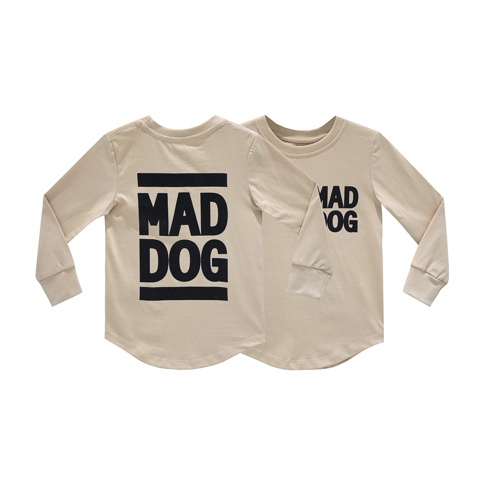 MAD DOG BOYS LONG SLEEVE TAN