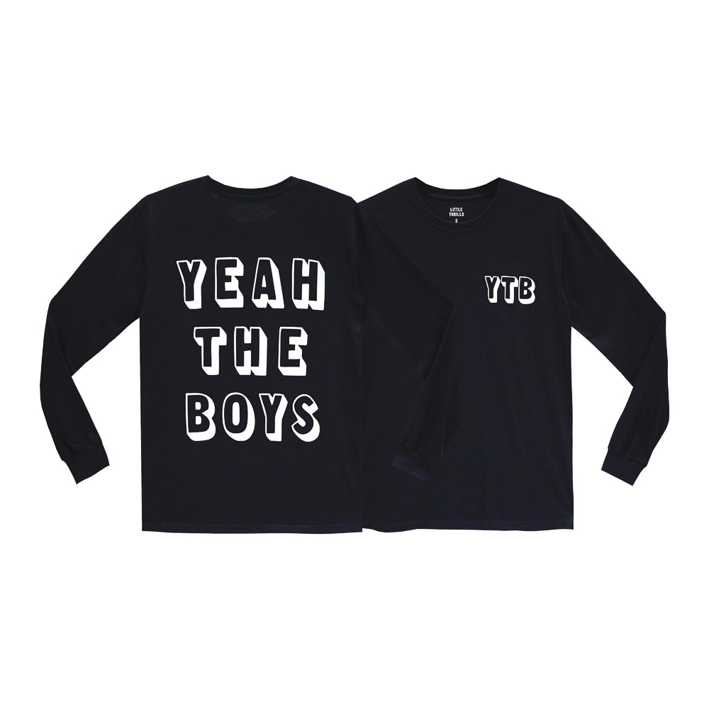 YEAH THE BOYS MENS LONG SLEEVES
