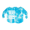 MAD DOG BOYS LONG SLEEVE TIEDYE BLUE
