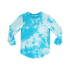 SOCIAL CLUB BOYS LONG SLEEVE TIEDYE BLUE