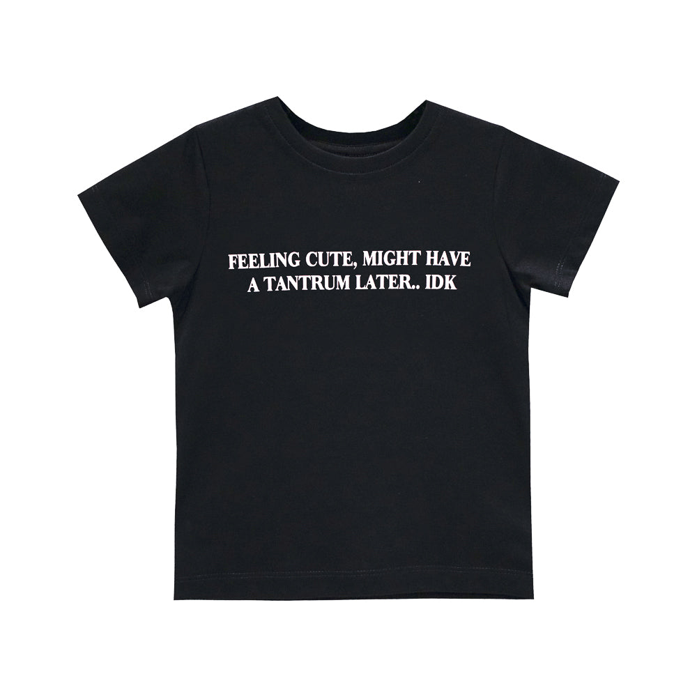 FEELING CUTE GIRLS STANDARD TEE