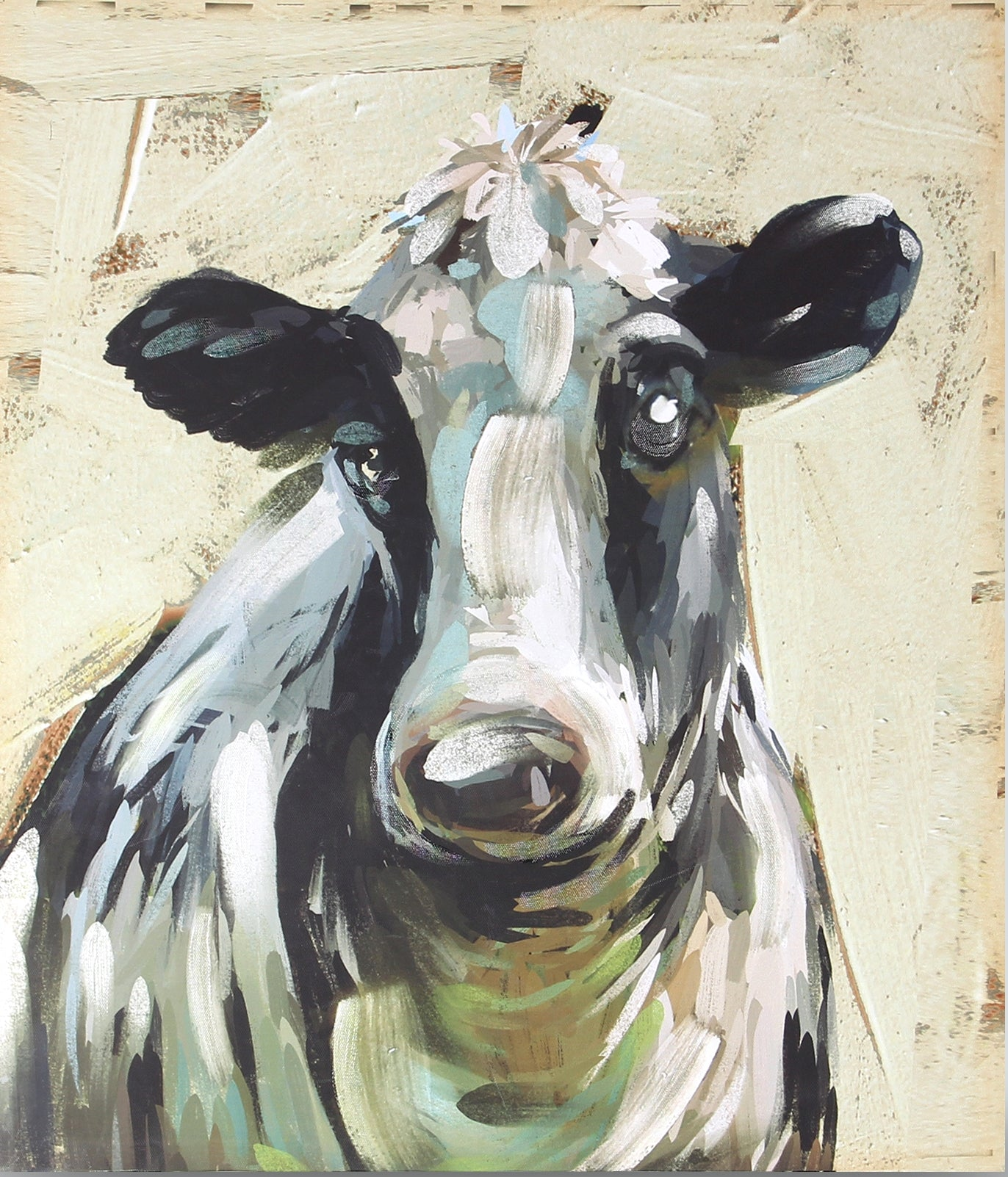 Cow Canvas - Farmhouse
