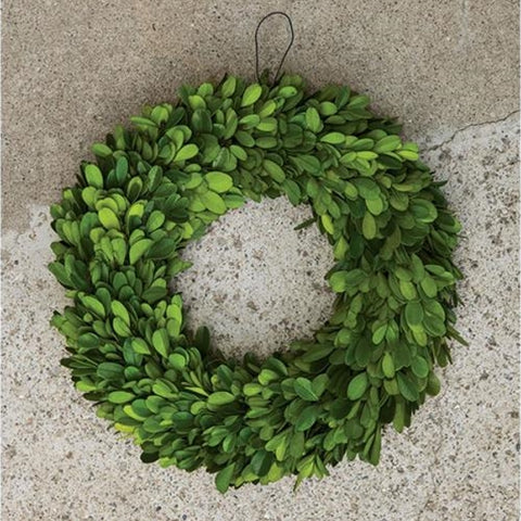 "Boxwood Wreath 11"" Dia."