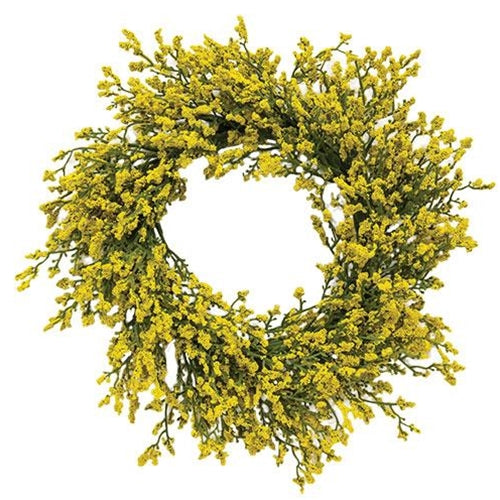 "Array Astilbe Candle Ring 6""/12"" Yellow"