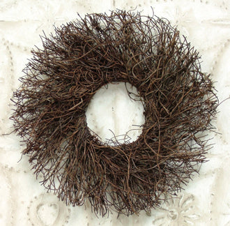 Angel Vine Twig Wreath 11""