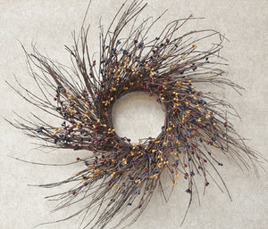 "16"" Colonial Pip/Twig Wreath"