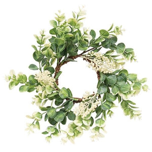 Seeded Baby Eucalyptus Small Wreath