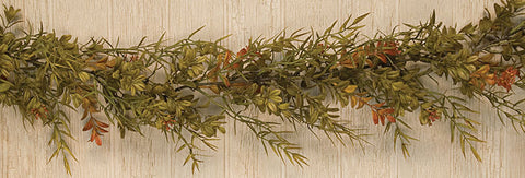 Boxwood Dill Leaves Garland