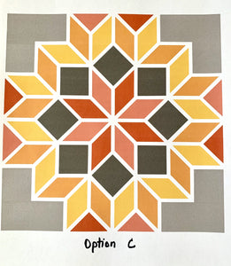 Barn Quilt Kit - Option C