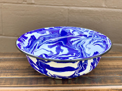 Blue and White Splatterware Bowl