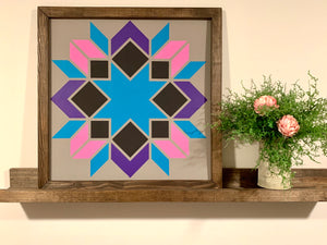 Barn Quilt Kit - Option A