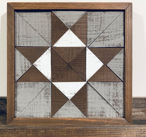 Barn Quilt Block Wood Kit
