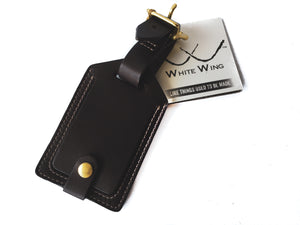 White Wing Luggage Tag