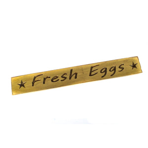 Fresh Eggs Tabletop Sign